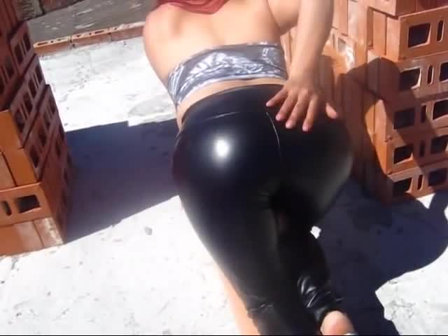 Leatherass in the sun