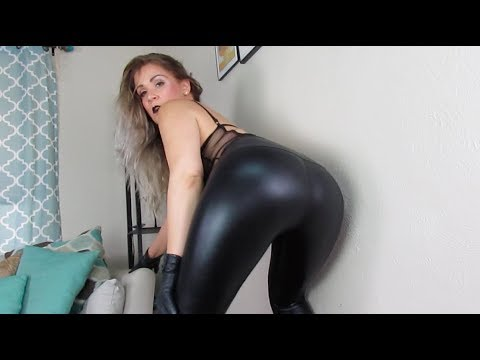 Leather Leggings Outfit - mswhitneymorgan