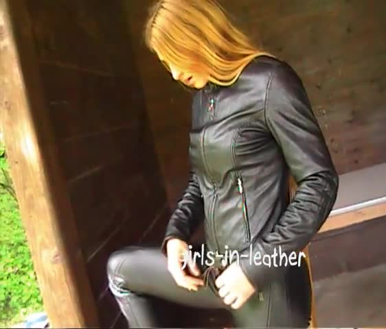 Girls in Black Leather
