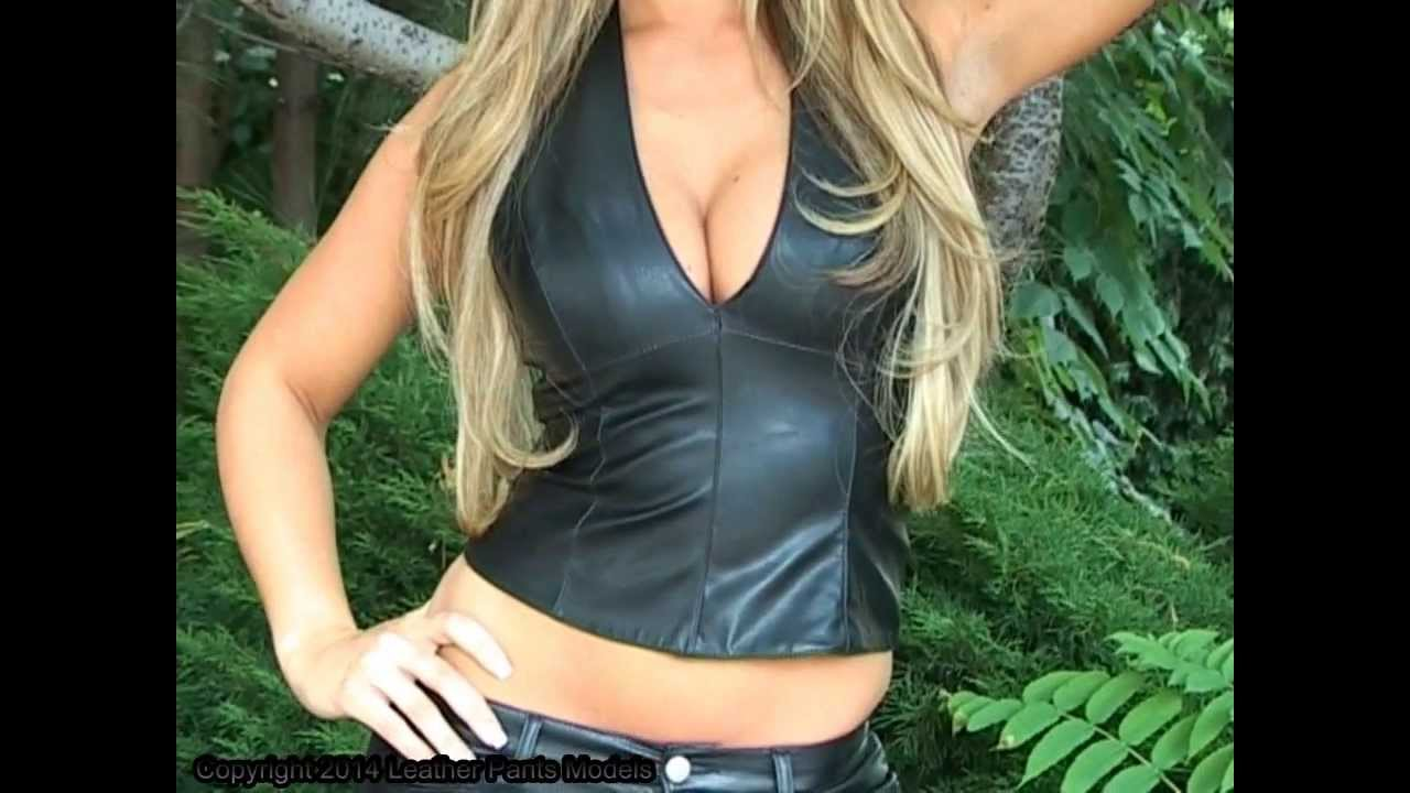 Leather Pants Model Amanda